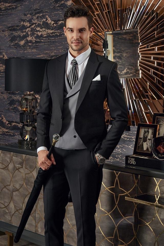 Bộ Suit Đuôi Tôm Phong cách Hoàng Gia