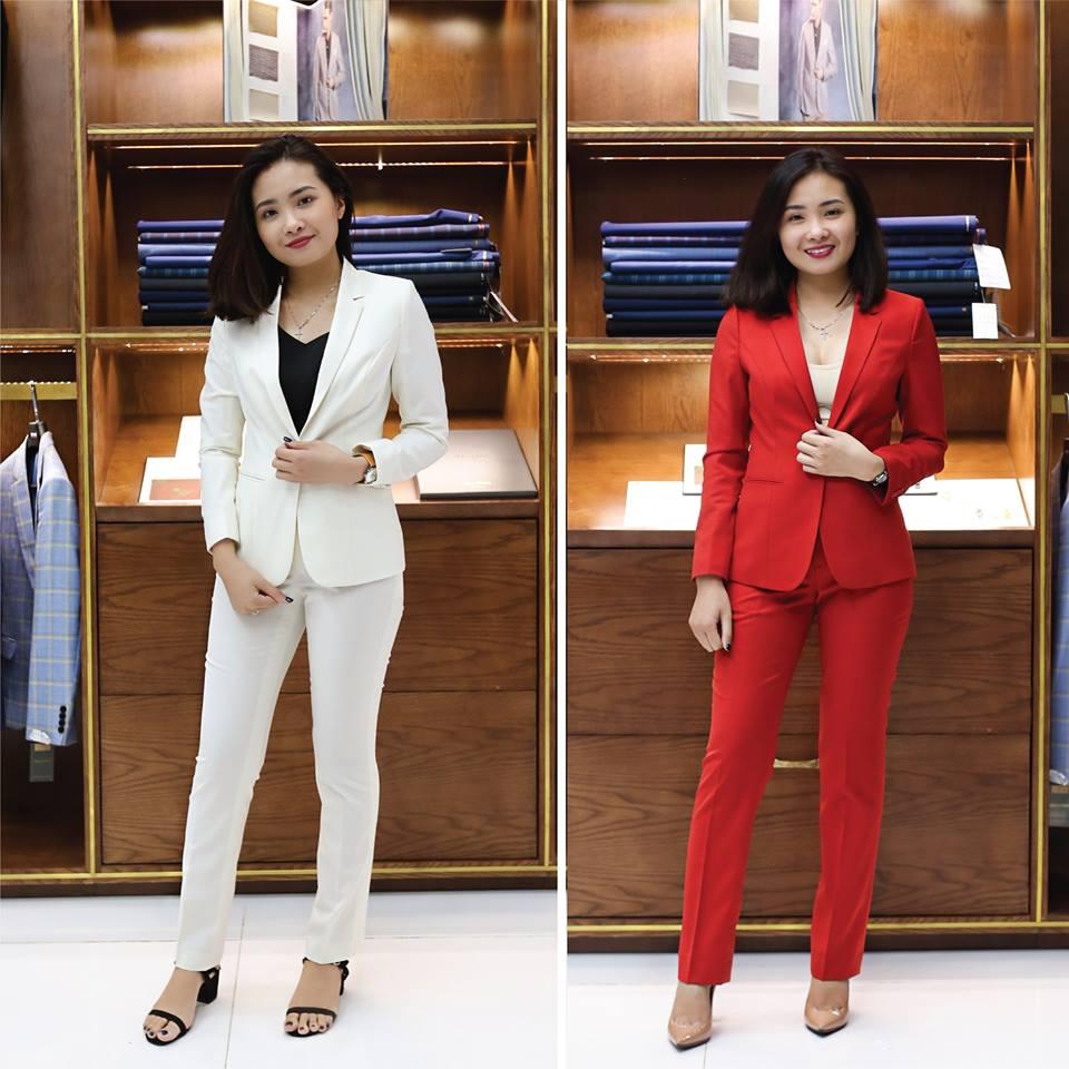 Được tự do lựa chọn kiểu dáng/màu sắc/ chất liệu luôn là ưu thế lớn khi đặt may áo vest nữ cao cấp.