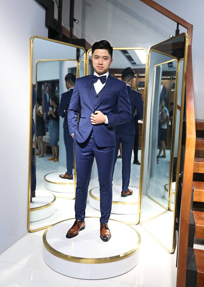 Custom made suits - One of Ho Chi Minh City's specialties.