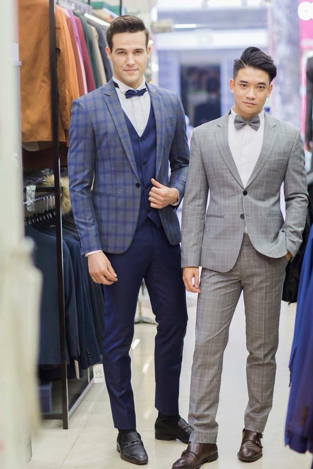 Ngay cả những mẫu họa tiết áo vest caro nam đang cực kỳ thịnh hành tại Italia, cũng có thể dễ dàng được tìm thấy tại các cửa hiệu của Mon Amie.