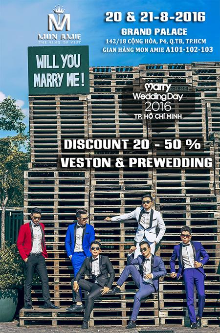 Khuyến Mãi hấp dẫn : Marry Wedding Day