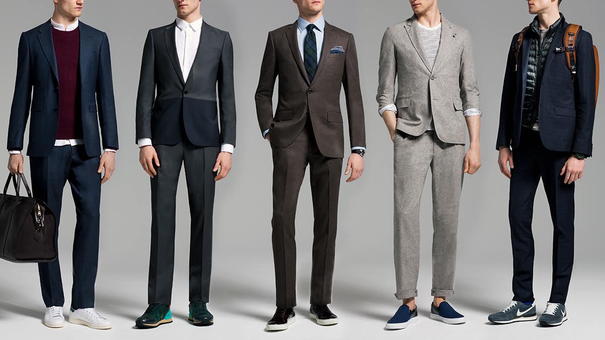 Cách chọn màu giầy sneaker phù hợp với suit