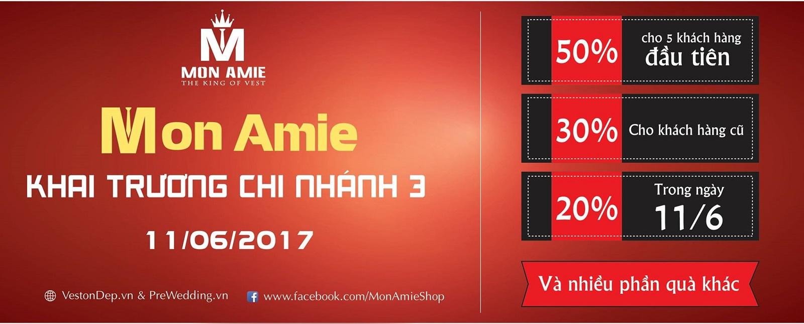 Mon Amie khai trương chi nhánh mới