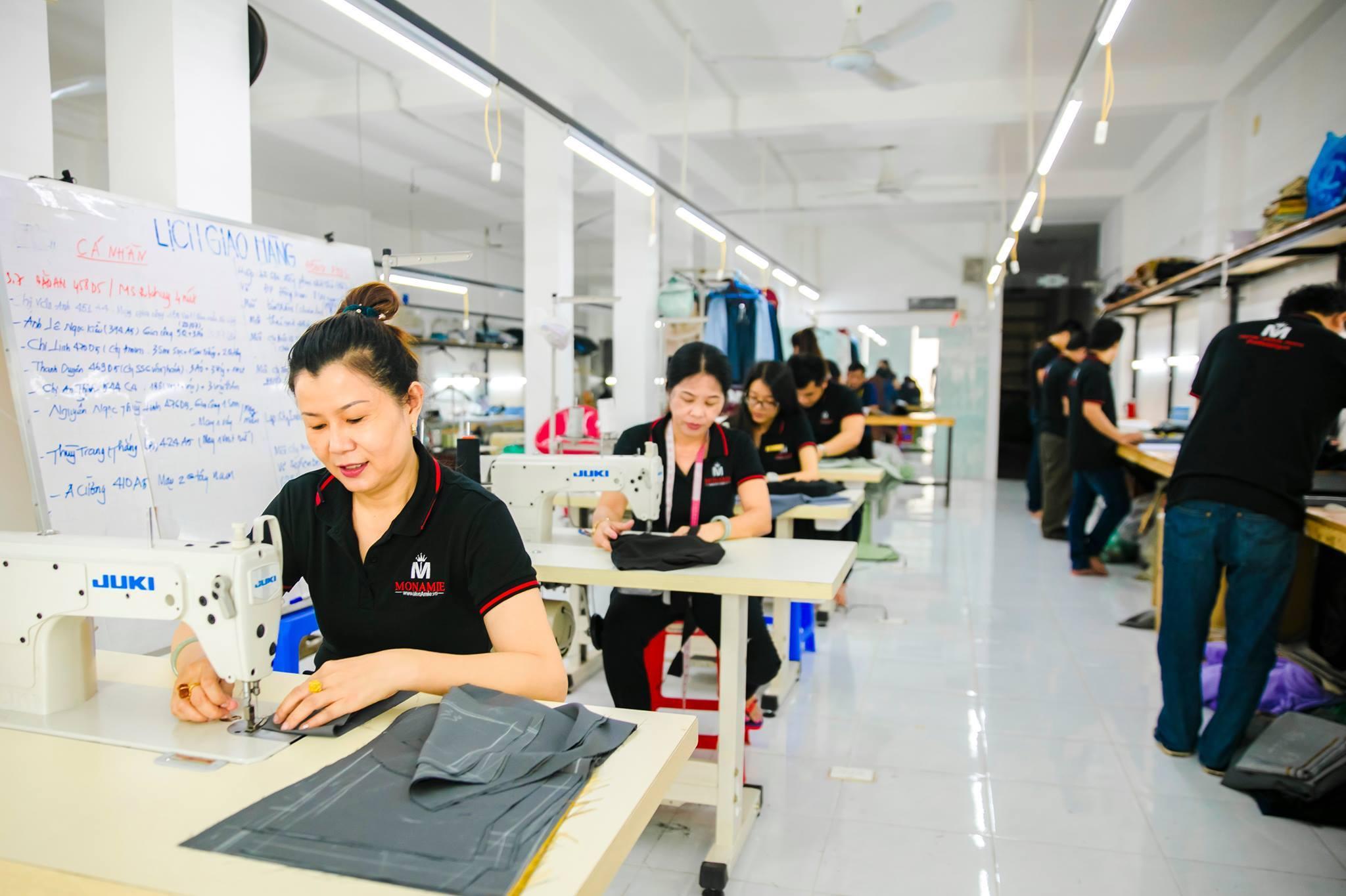May váy nữ công sở ở đâu thì đẹp