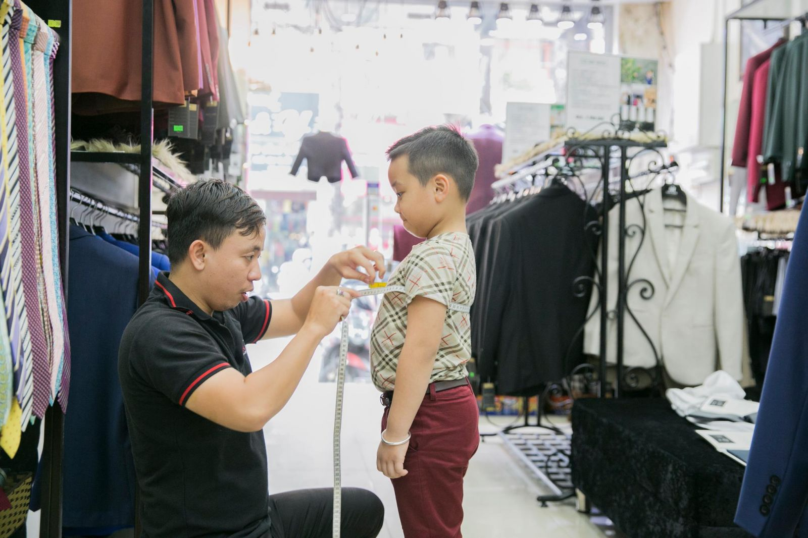 May vest trẻ em đẹp tại TP. HCM