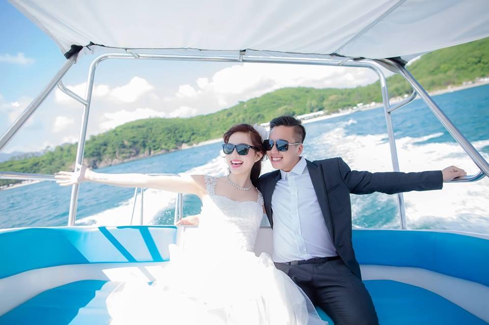 May vest cưới tại Mon Amie