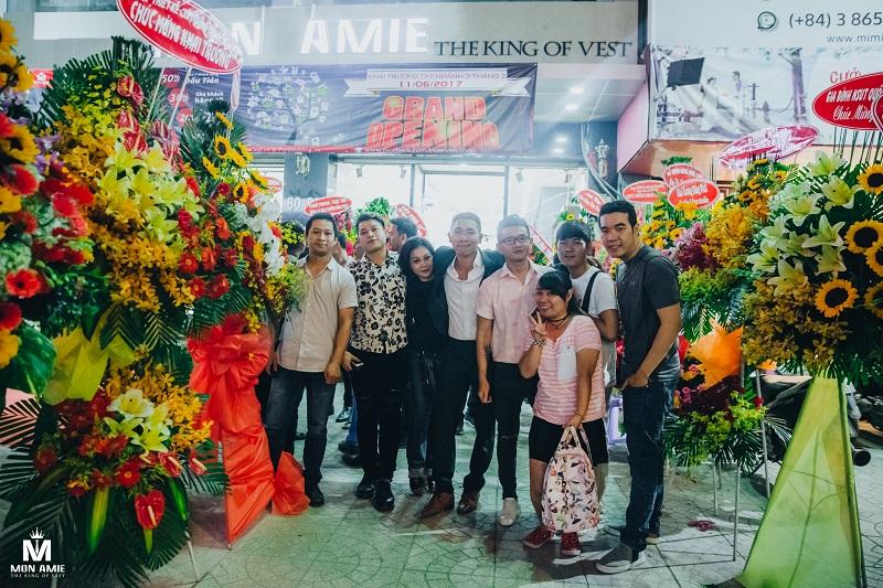 Tưng Bừng Khai Trương Chi Nhánh Mới - Veston Mon Amie CN Quận 10