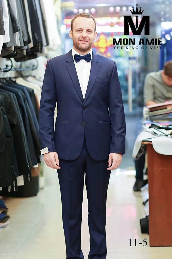 Suit Italia Xanh Navy KH147