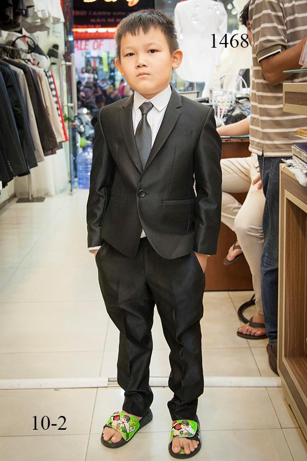 Suit Đen Trẻ Em Hàn Quốc TE015