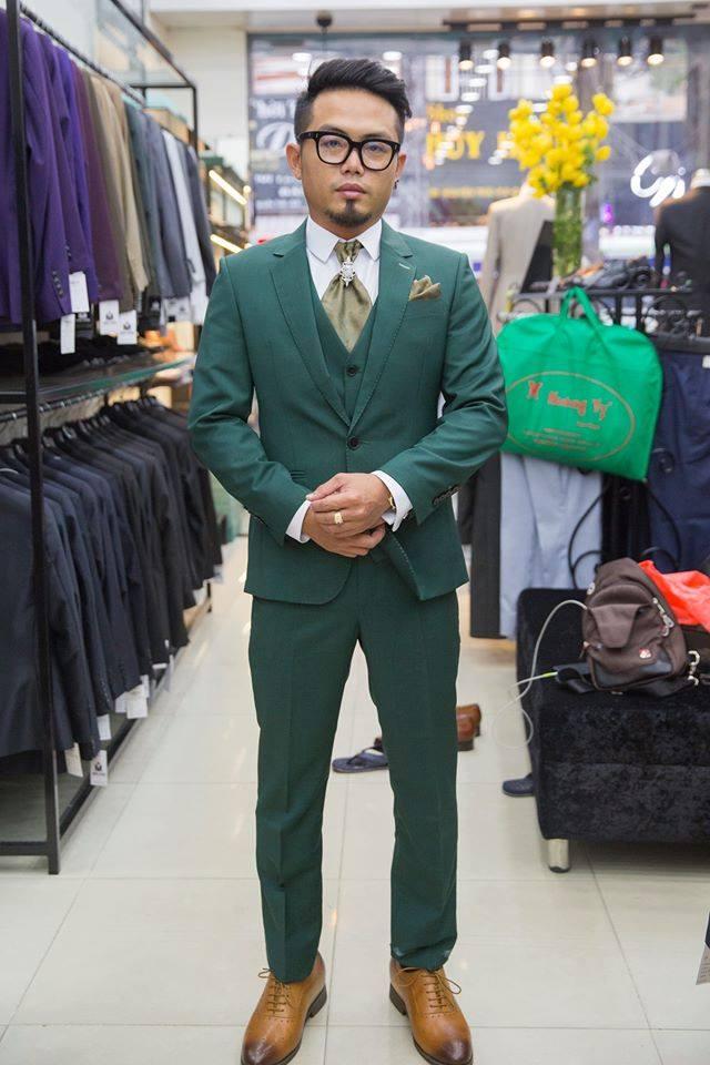 Suit Xanh Lá Cerruti KH137