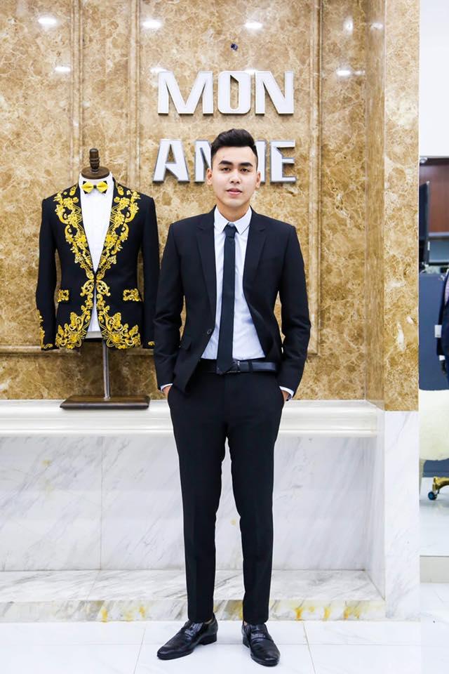 Suit Đen Slim Fit Cho Khách Làm Dịch Vụ Khách Sạn