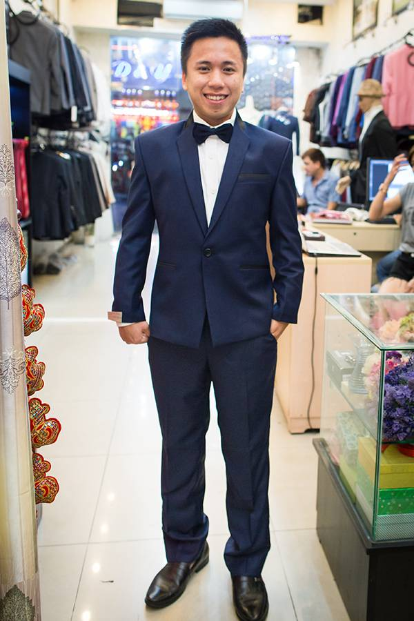 Suit Xanh Navy KH017