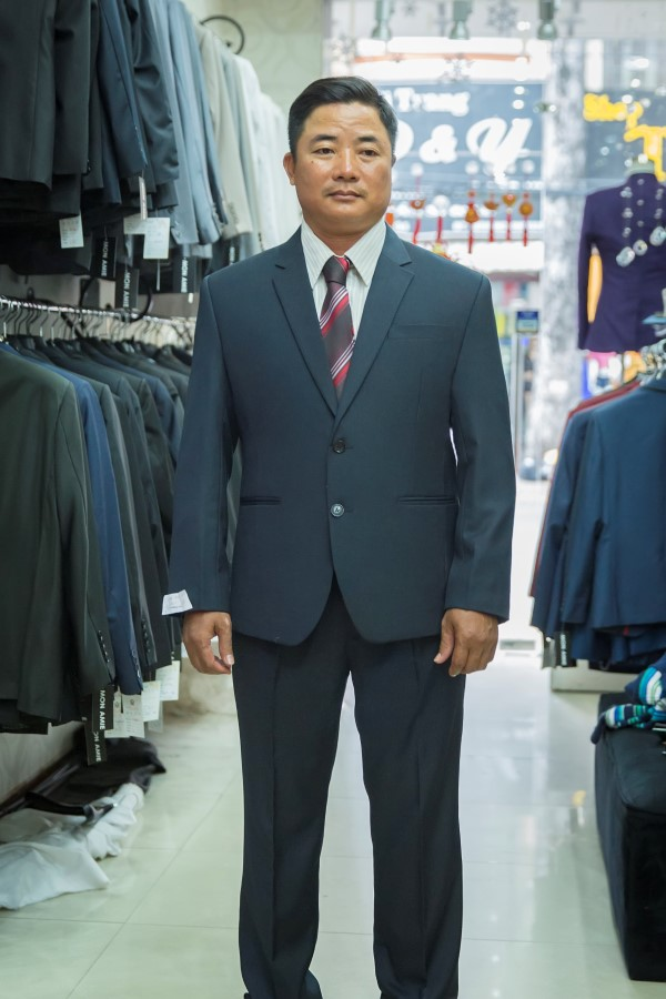 Suit Sui Gia Xanh Navy M22 Lịch Lãm