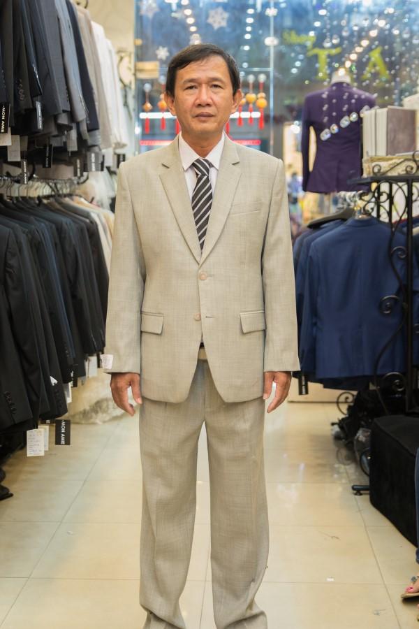 Suit Sui Gia Xám Trắng M13