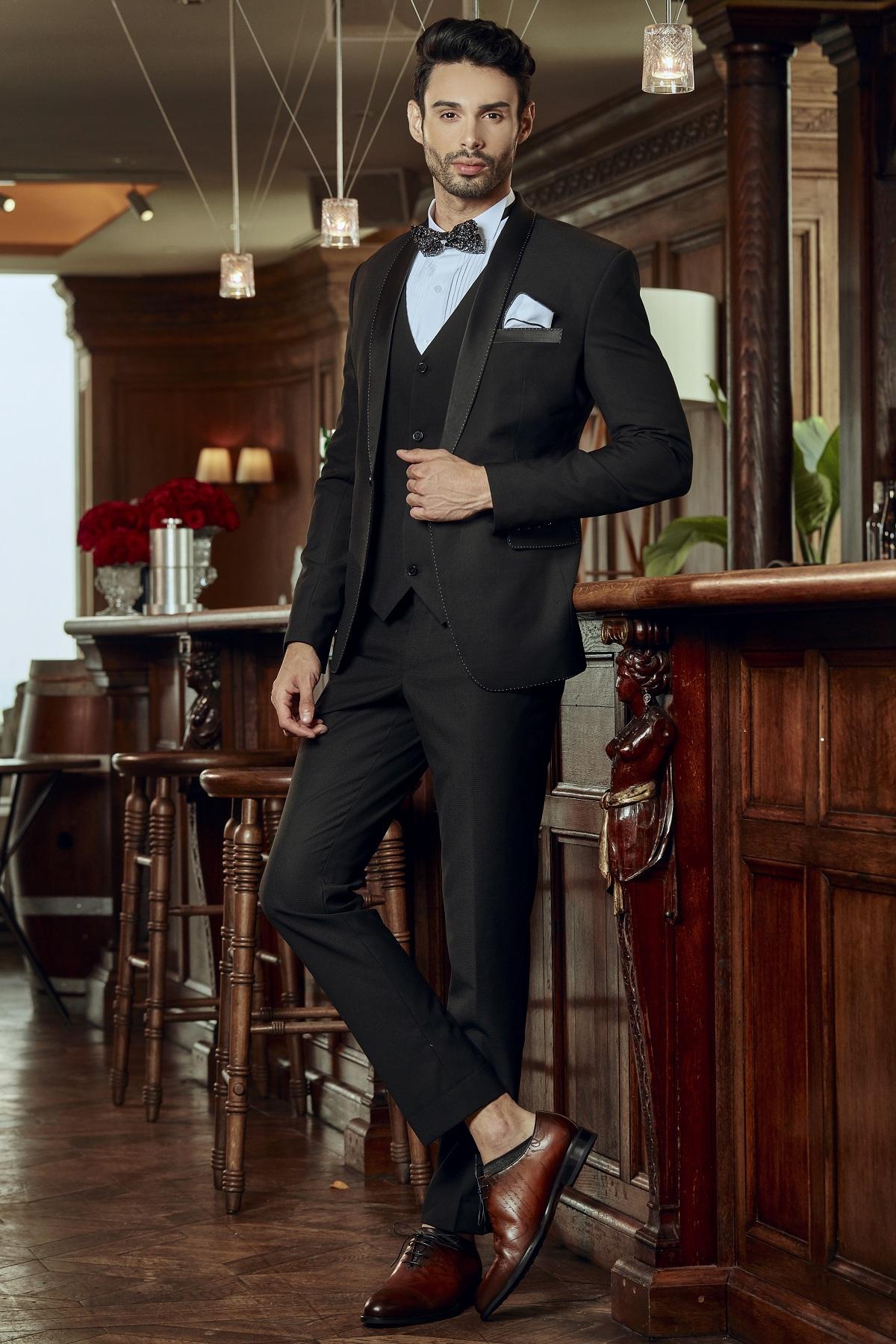 Bộ Tuxedo Italia Cao Cấp