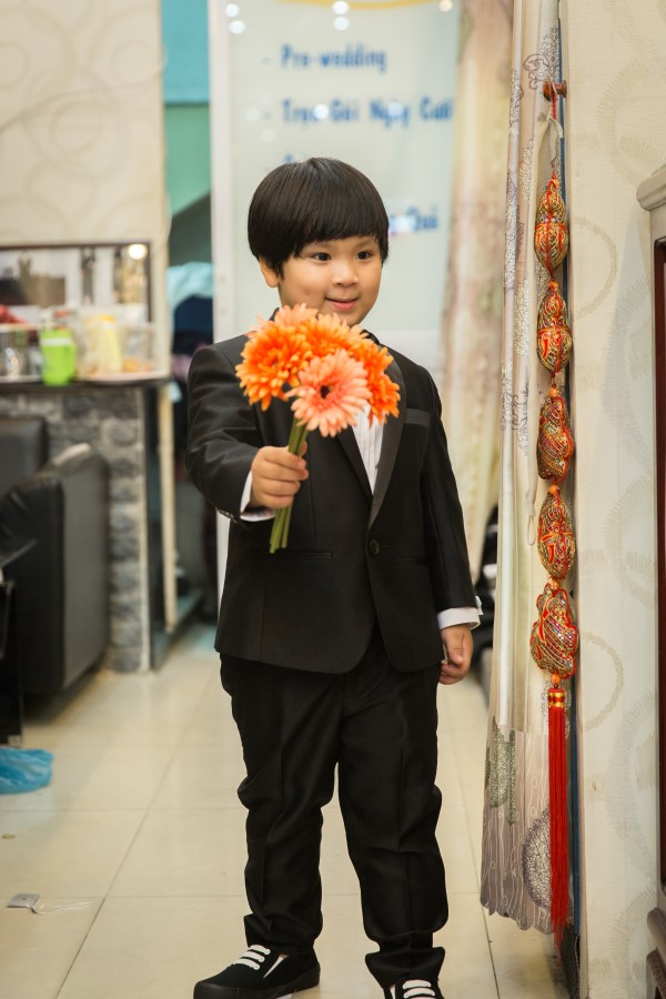 Vest Trẻ  Em Hàn Quốc TE027