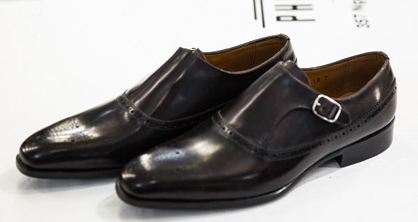 Giày Tây Nam Cao Cấp Italia Màu Đen FS16 695 12