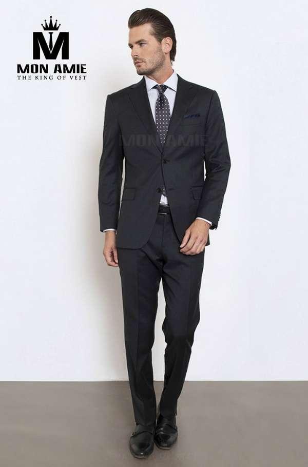 Suit Châu Âu Đen Super Black CA15