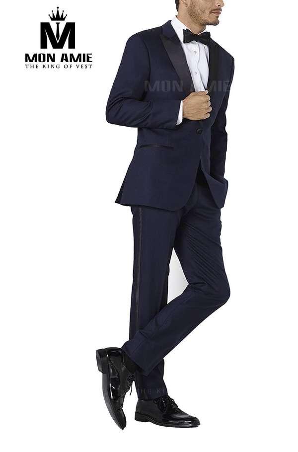Bộ Tuxedo Xanh Đen Tuxedo002