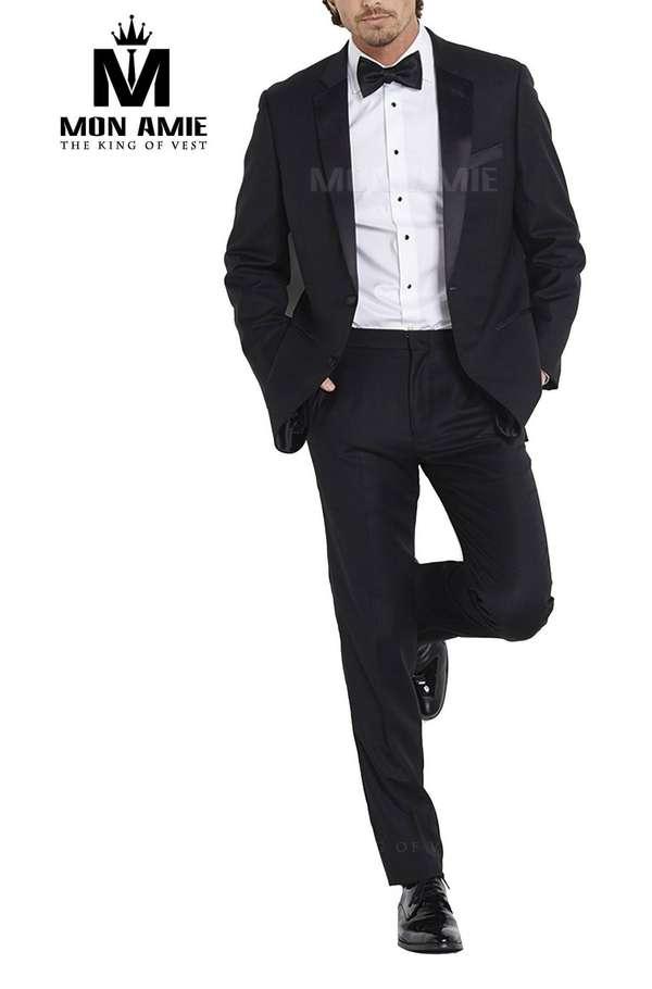 Bộ Tuxedo Đen Tuxedo003