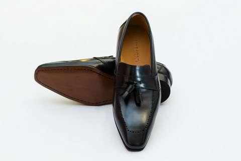 Giày Tây Nam Cao Cấp Màu Đen CH202 Mon Amie