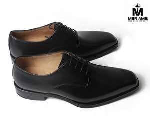 Giày Tây Nam Cao Cấp Italia Màu Đen DBH59008 Mon Amie