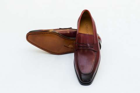 Giày Tây Nam Cao Cấp Italia Màu Đỏ NOIBLACK Mon Amie