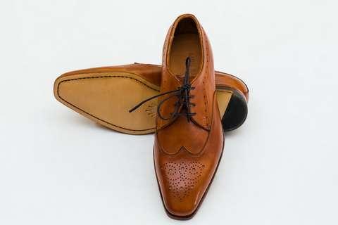 Giày Tây Nam Cao Cấp Italia Màu Nâu Mon Amie S3