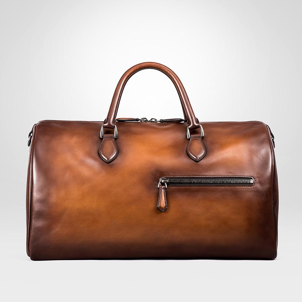 Túi da du lịch 7048-Brown