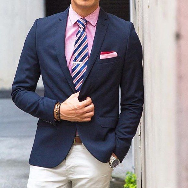 Sắc hồng – Phong cách của nam giới thời đại