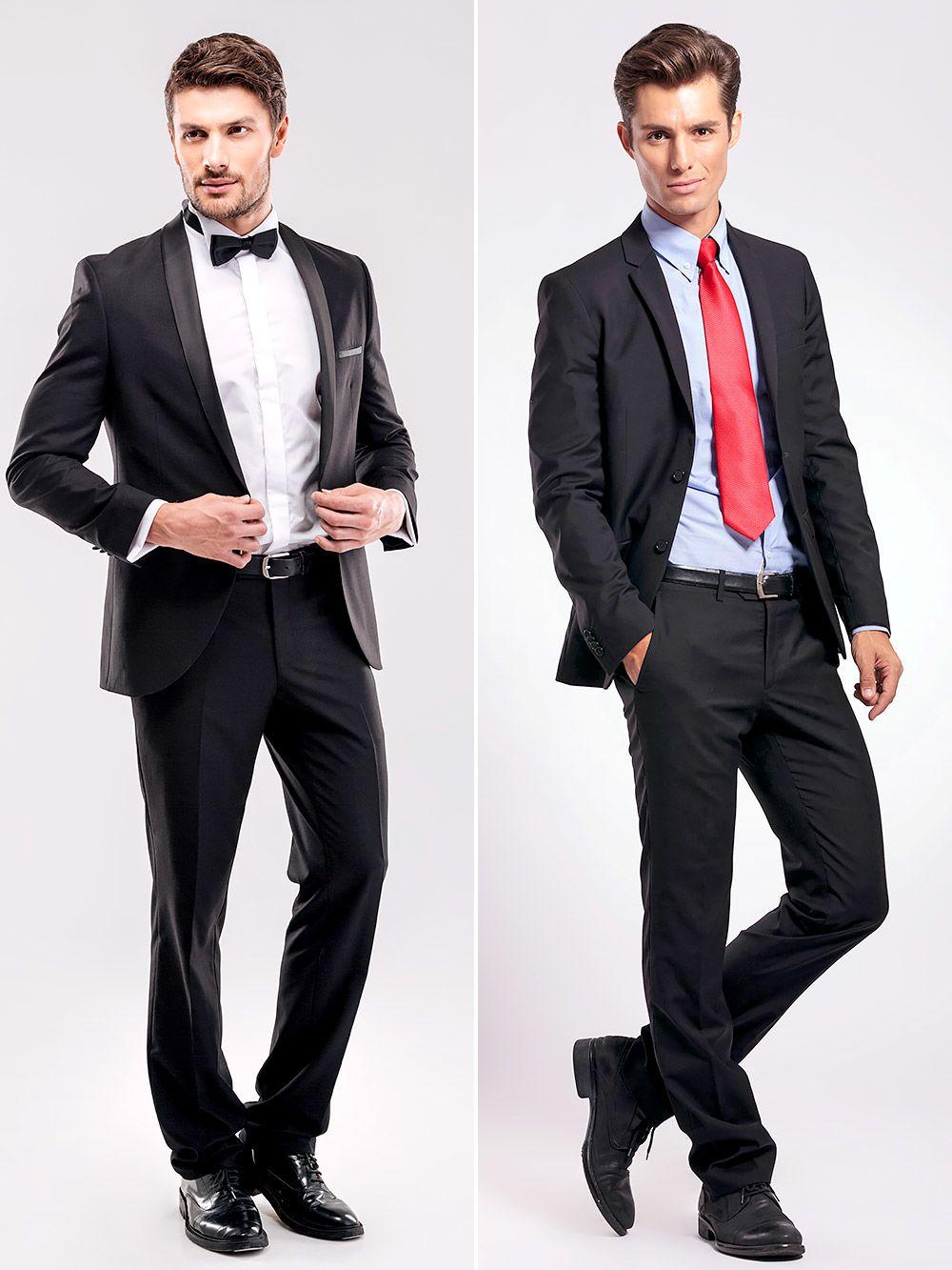 Tuxedo và suit, đâu là điểm khác biệt