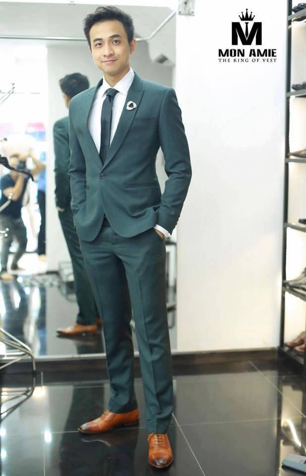 Suit Xanh Rêu KH119