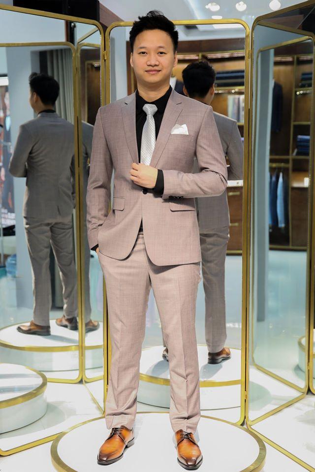 Suit Xám Hàn Quốc Hiện Đại