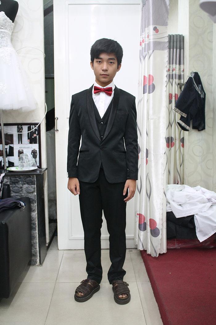 Tuxedo Trẻ Em Phong Cách Hàn Quốc TE016