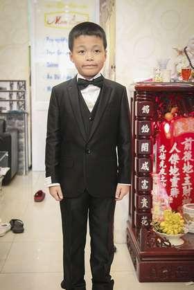 Bộ Vest Tuxedo Dành Cho Trẻ Em TE018