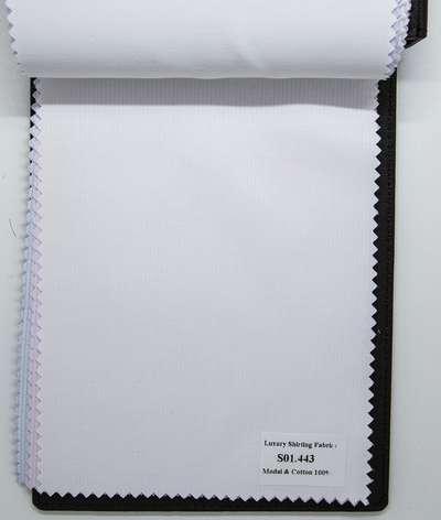 Mẫu vải sơ mi trắng sọc đẹp S01.443